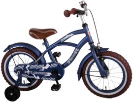 Volare Blue Cruiser Kinderfiets - Jongens -14 inch - Blauw
