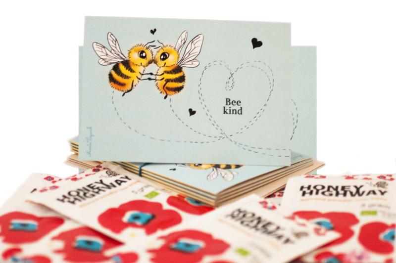 Bee Kind kaarten-set