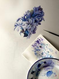 Card Hyacint 'Blue Star'