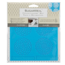 SugarVeil Flowers Toppers Mat