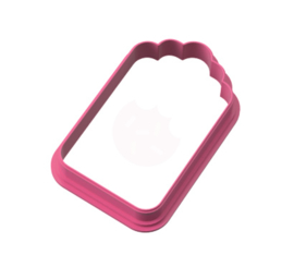 Tag cookie cutter