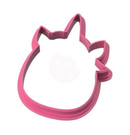 Unicorn Lisa cookie cutter
