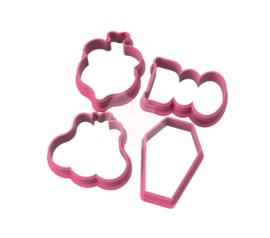 Mini's  halloween set cookie cutters