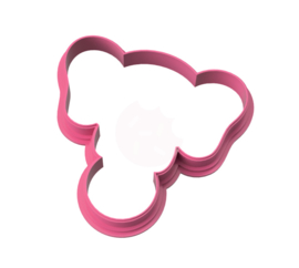 Circus olifant cookie cutter & stencil