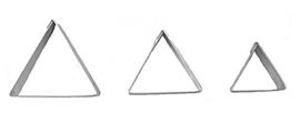 Driehoeken glad koek-it
