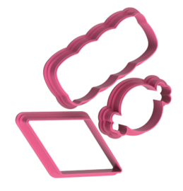 Snoep cookie cutter set