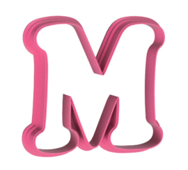 Letters cookie cutter