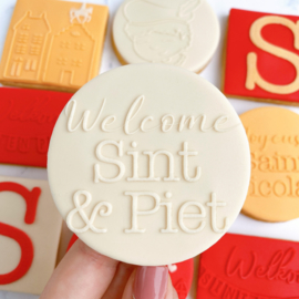 Sinterklaasfeest-  welcome SINT & PIET