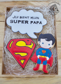 Super papa cookie cutter set