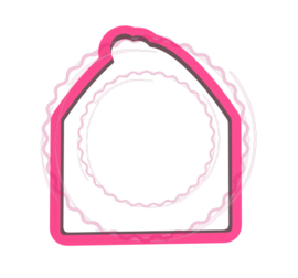 Envelop cookie cutter