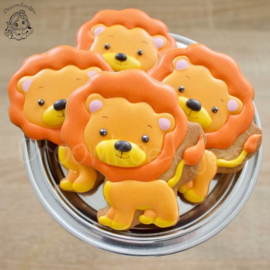 Leeuw cookie cutter