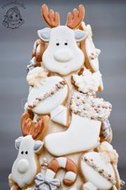 Kerst sok cookie cutter
