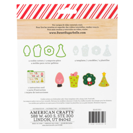 Sweet sugarbelle  HOLIDAY 2018 - COOKIE CUTTERS - 9 PC SET
