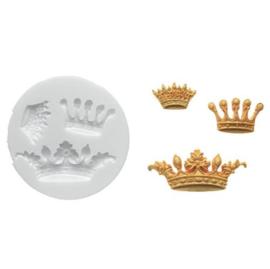 Silikomart Sugarflex Mould -Crowns