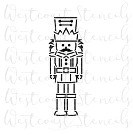 Kerst nutcracker PYO stencil