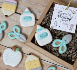 Mini's school 5,5 cm cookie cutter