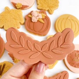guirlande bladeren + cutter 2 delig - oh my cookie