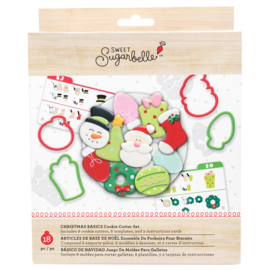 Sweet sugarbelle - CHRISTMAS - HOLIDAY CUTTERS - 8 PIECES
