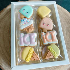 Chubby ice mini's  4 delige cookie cutters