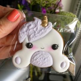 Unicorn Luna cookie cutter & hulp stencil