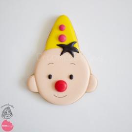 Clowntje cookie cutter & hulp stencil