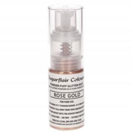 Sugarflair Pump Spray Glitter Dust -Rose Gold