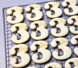 Cijfers # cookie cutter