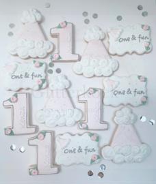 Plaque uniek cookie cutter