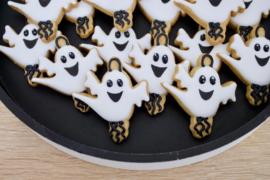 Geluks popje 12 spookje cookie cutter & kaartje(S)