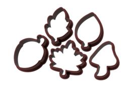 Herfst mini cookie cutter BOX