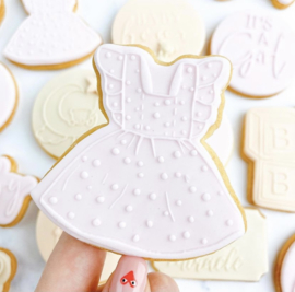 Jurkje  + cutter 2 delig - oh my cookie