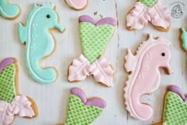 Zeepaardje cookie cutter