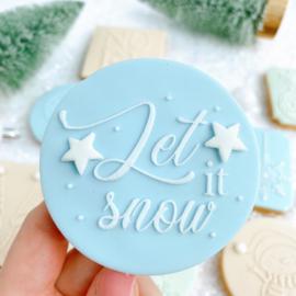 Kerst-  Let it snow