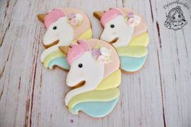 Unicorn Lola cookie cutter
