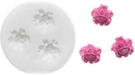 Silikomart Sugarflex Mould -Small Roses-