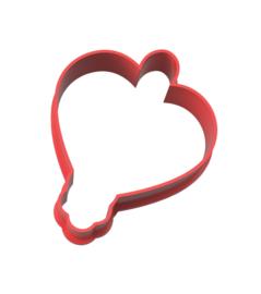 Geluks popje 9 hartje cookie cutter & kaartje(S)