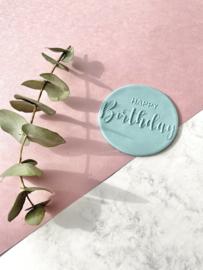 Tekst - happy birthday