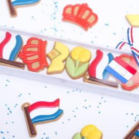 Konings dag mini 5,2 cm cookie cutters 3 - delig