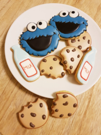 Cookie Monster set  cookie cutters