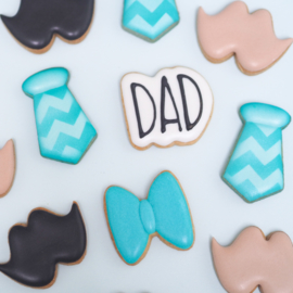 Chubby DAD mini's 4 - delig cookie cutters