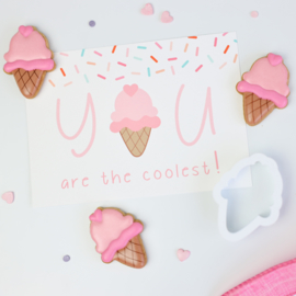 You are the coolest cookie cutter & kaart
