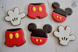 Mouse broek cookie cutter