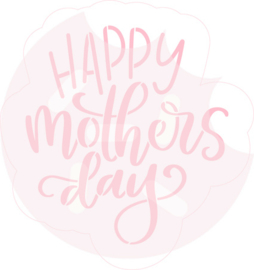 Happy mothers day cutter & stencil set