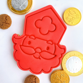SINT cookie stempel & cookie cutter - 2 delig