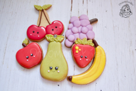 Fruit schaal set  cookie cutter