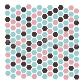 3 Piece Hexagons