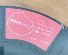 PLA filament KoeKdesign Bronze-Gold