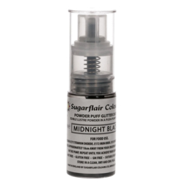 Sugarflair Pump Spray Glitter Dust -black