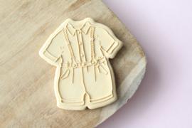 Tuinbroekje  + cutter 2 delig - oh my cookie
