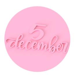 5 december cookie stempel